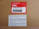 neue Kurbelwelle Honda RS250 NX5 & NXA
