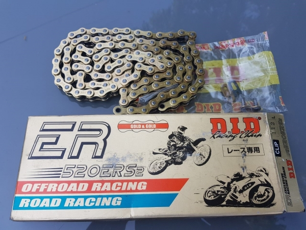 DID u. EK Racing Ketten 520er Teilung